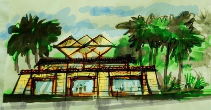 展陈与建筑一体化设计:三亚黎峒春秋博物馆